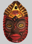 Catherine's african mask